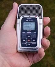 Zoom H2 Pocket Sized Digital Audio Recorder